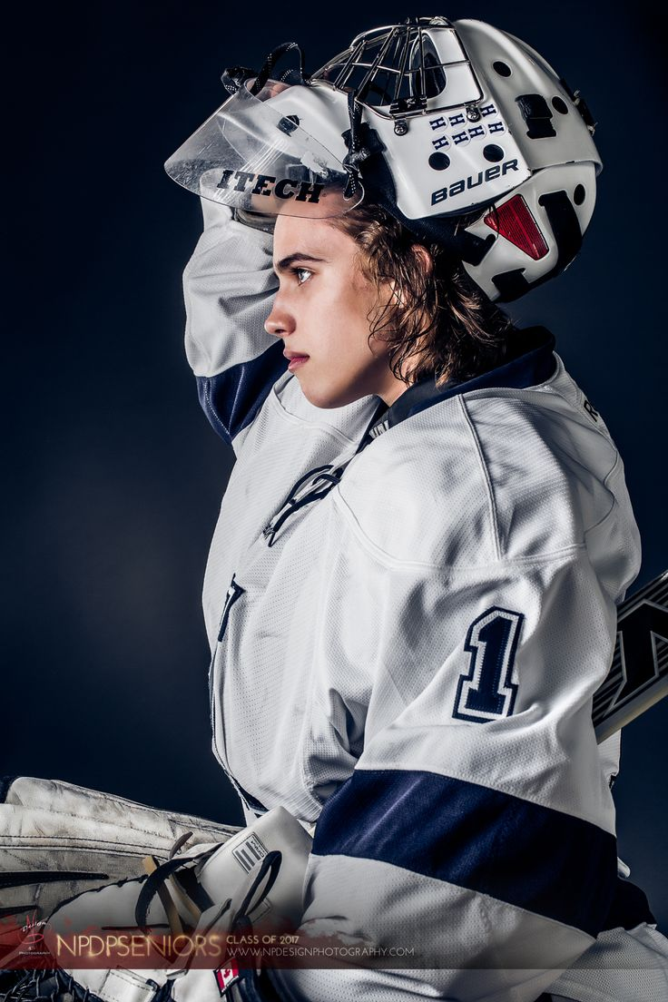 NP Design & Photography | Senior Pictures | Hockey Player | Portrait Photography | NPDPSeniors