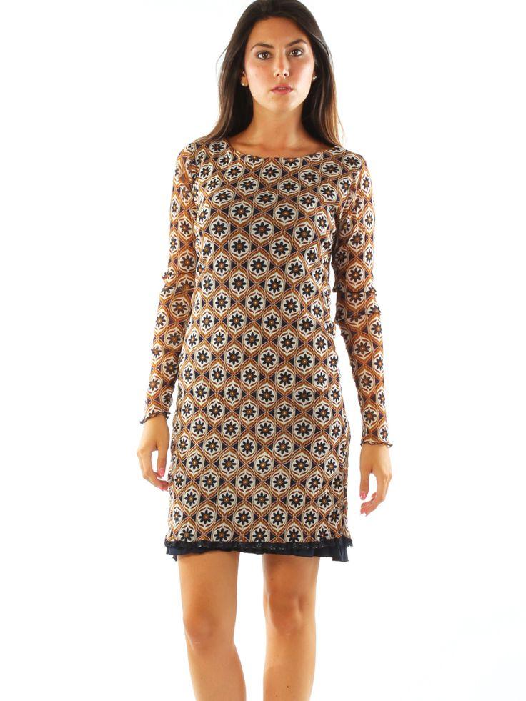 Floral patterned woven jersey A-line elegant short dress. Freesketch http://www.luanaromizi.com/en/home/floral-patterned-woven-jersey-a-line-elegant-short-dress.html #Floral #patterned #woven #jersey #Aline #elegant #shortdress #freesketch