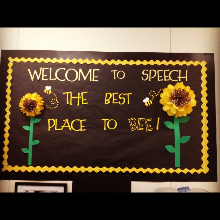 FINALLY found a phrase for the awesome bulletin board I made!! :D