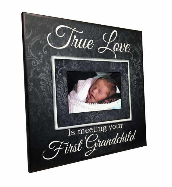 New Grandparent Gift Picture Frame For by MemoryScapes on ...