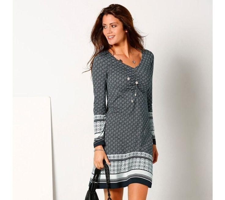 Šaty s potiskem žakáru | vyprodej-slevy.cz #vyprodejslevy #vyprodejslecycz #vyprodejslevy_cz #saty #dress