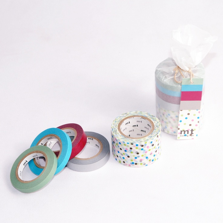 Five pack decorative tapes in three colour schemes at STUDIONO44.COM.