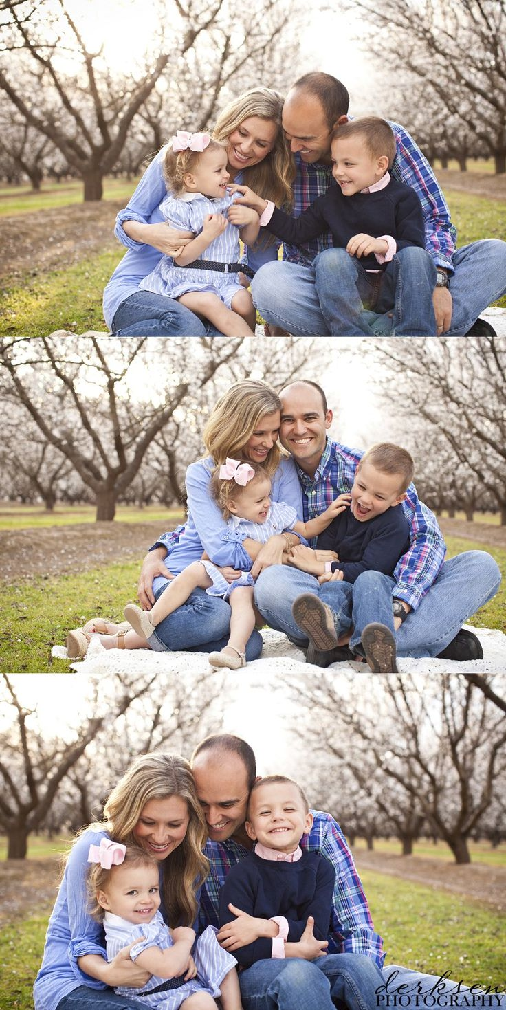 Family portraits | Ideas | Outside - I love that it's not so stuffy. Maybe have a mix of posed and relaxed shots