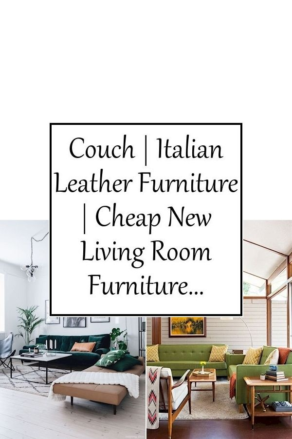 Couch | Italian Leather Furniture | Cheap New Living Room
