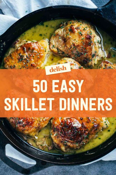 The 52 Most Delish Skillet Dinners