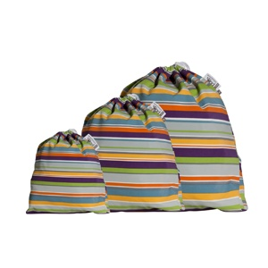 a good quality wet bag - for when out and about (or when you are on holidays or as a nappy bucket liner)