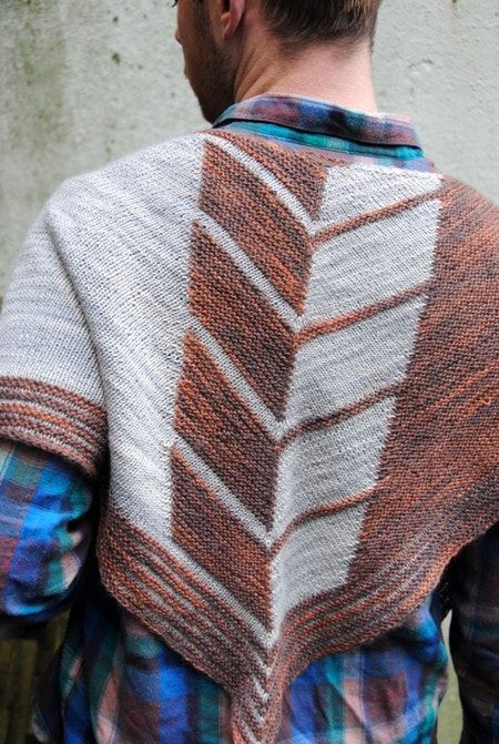 Chevry Shawl Pattern by West Knits More