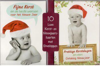 Kerstkaarten met baby's