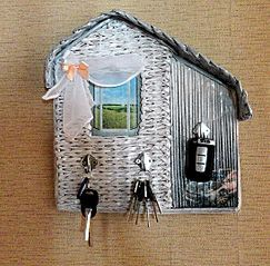 kulcstartó плетеные домики для мелочей - Поиск в Google
