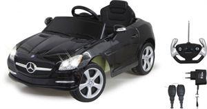 JAMARA Elektroauto Ride on Mercedes Benz SLK schwarz - Einsteigen, Zündschlüssel umdrehen, Licht an und Gas geben, wer hat als Kind nicht davon geträumt. #Mercedes #Kinderauto #Kinderfahrzeug #Elektroauto