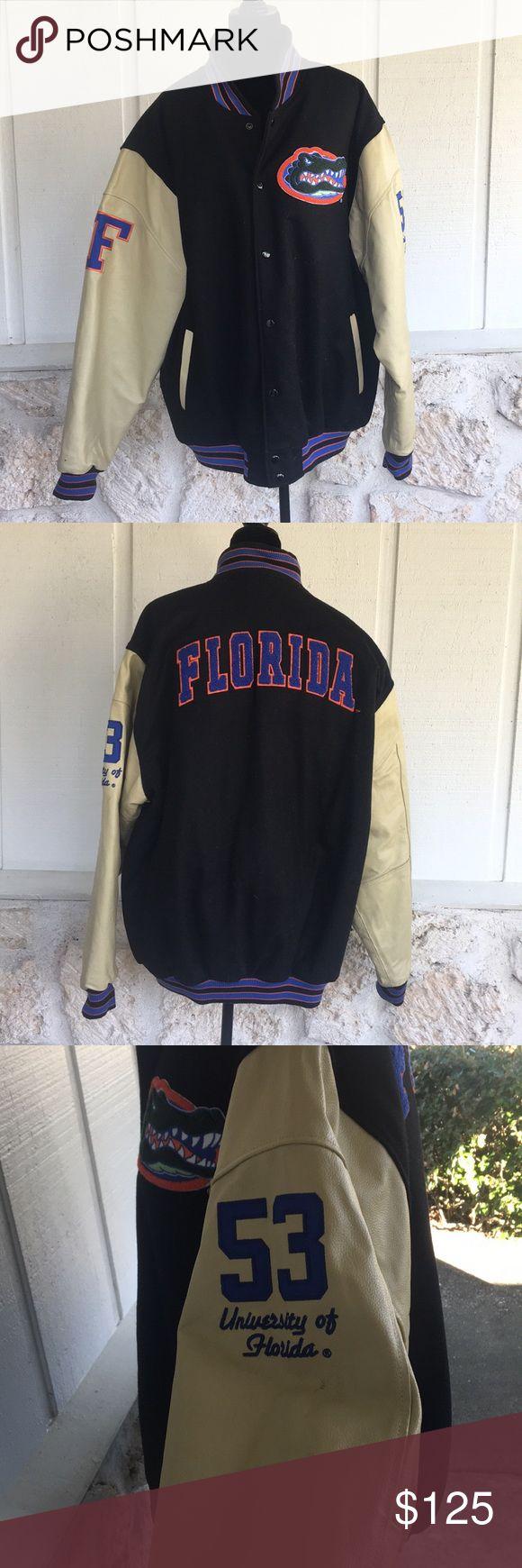 🆕Florida Gators Men's varsity coat ✅I ship same or next day ✅Bundle for discount Colosseum Jackets & Coats Bomber & Varsity
