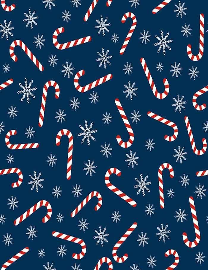 Christmas Cane Snowflakes Step And Repeat Photography Backdrop J 0219 Christmas Phone Wallpaper Cute Christmas Wallpaper Christmas Wallpaper