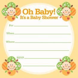 Printable Free Baby Shower Invitations