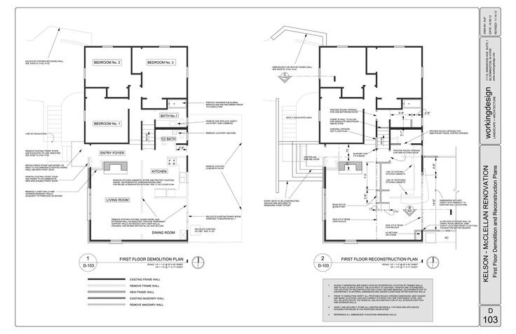 Demo plan building science details pinterest for Demolition plan template