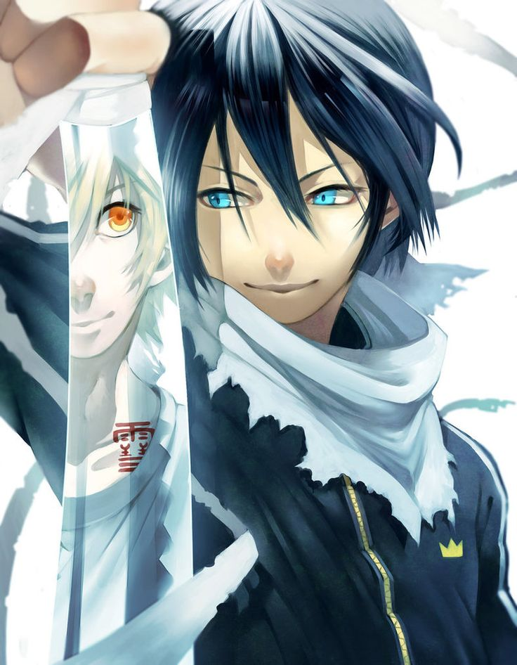 Noragami ~~ Yato and Yukine are true partners :: [ The one and only by CottonCandyStar on deviantART ]