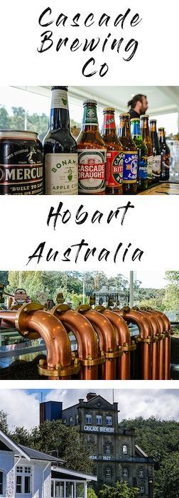 The best brewery tour in Tasmania happens every day at the Cascade Brewery, about 30 minutes outside of Hobart city. Brewery tours   Tasmania   Hobart   Beer tours