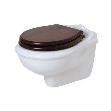 Toilet væghængt Jubilæum i klassisk stil. Made in Italy