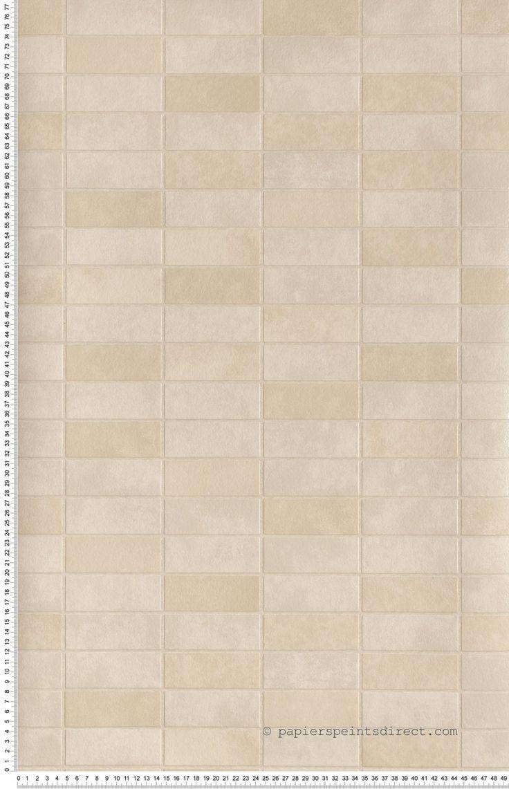 17 meilleures id es propos de cuisine beige sur - Papier peint lutece cuisine ...