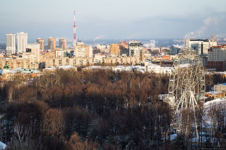 Зимняя Пермь Фото: Родион Балков