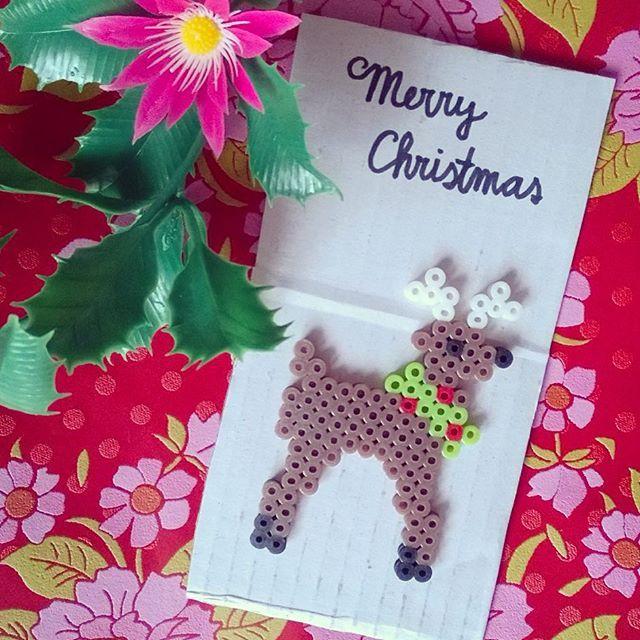 Merry Christmas hama beads by tamatek