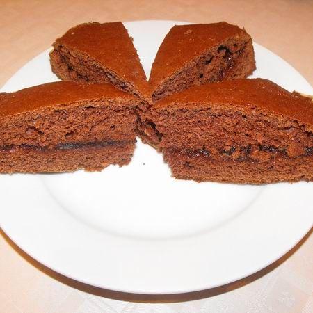 Kakaós kevert sütemény lekvárral Recept képpel - Mindmegette.hu - Receptek