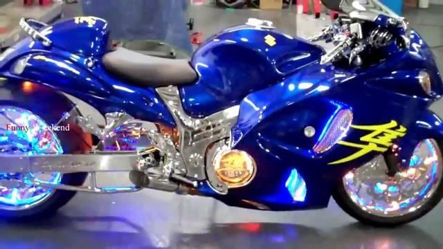 Best Superbike Suzuki Hayabusa Custom Fighter Bike Modification