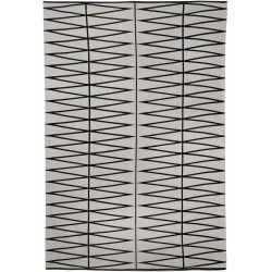 Design print zwart - Bloomingville #design #vloerkleed #bloomingville