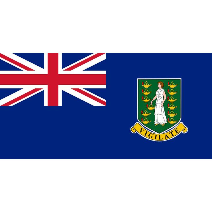 Tafelvlaggen Britse Maagdeneilanden 10x15cm | Britse Maagdeneilanden tafelvlag
