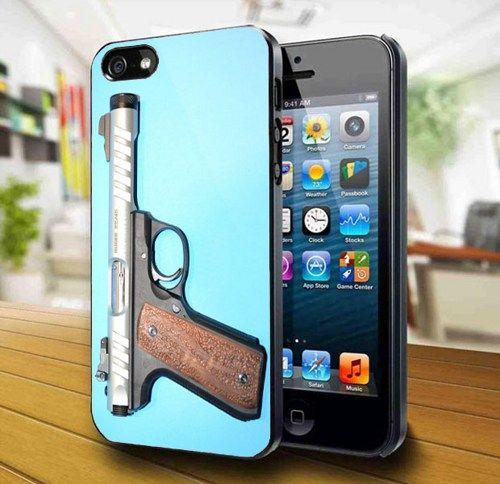 Handgun iPhone 5 Case     | kogadvertising - Accessories on ArtFire