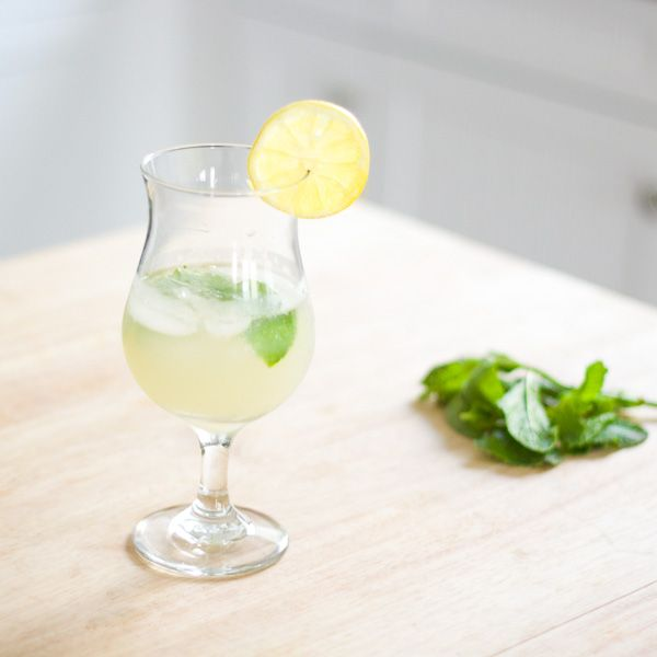 This drink recipe takes traditional ouzo and spices it up, using lemon, mint, and honey. Giving a modern twist on a classic drink served in Greece.