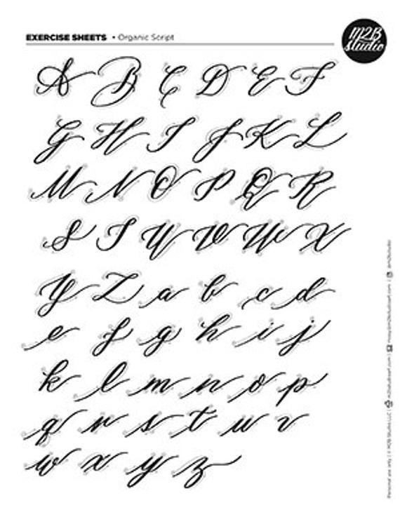 Calligraphy Alphabet Lowercase Calligraphy Alphabet Lowercase Kalligraphie Alphabet K In 2020 Cursive Calligraphy Calligraphy Alphabet Tutorial Lettering Alphabet