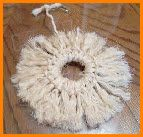 Instructions for how to make a preening toy with sisal