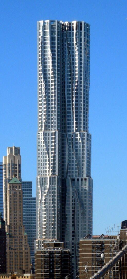 8 Spruce Street / New York / Frank Gehry
