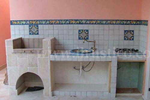Le 25 migliori idee su cucine da esterno su pinterest - Cucine per esterno in muratura ...