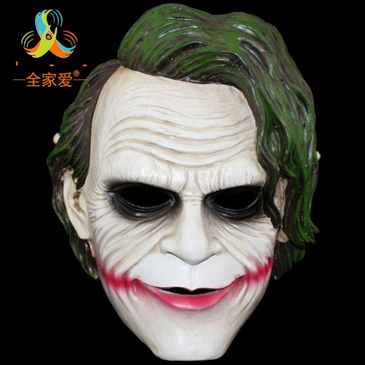 >> Click to Buy << NEW ARRIVAL Movie Theme Resin Batman Joker Clown Mask Robbers Version 2.0 Heath Ledger Resin Masks Free Shipping #Affiliate