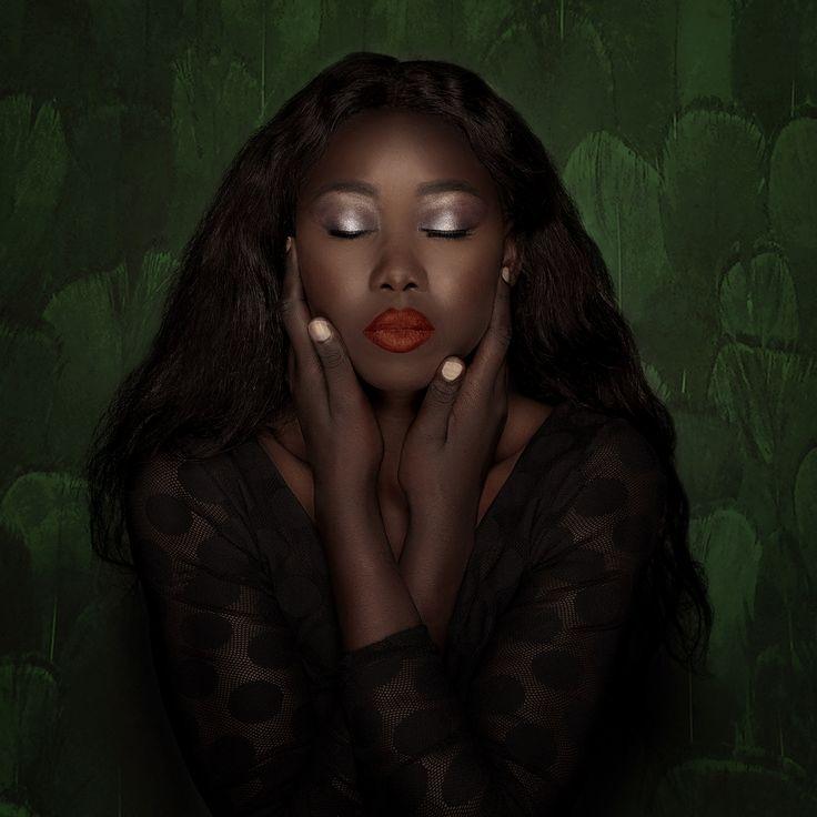 Model - Nyuon, Makeup - Tyra Chanel MUA, Fashion - Atong Omoli, Assistant - Richard Iskov, Photography & Retouching - Lisa Minogue of Liberation Images  Insta: @liberationimages  South Sudanese African Australian Retro Black Female Model Makeup