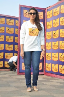 Huma Qureshi The Walk for The Love of Shiksha Event.