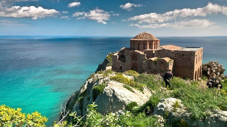 Ag. Sophia in Monemvasia Peloponnese - Wonderful Greece