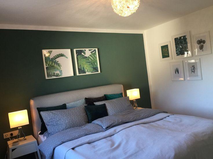 Daheim Schoner Wohnen Schlafzimmer Bedroom Ikea Mjolvik Boxspringbett In 2020 Schoner Wohnen Schlafzimmer Wohnungseinrichtung Schlafzimmer