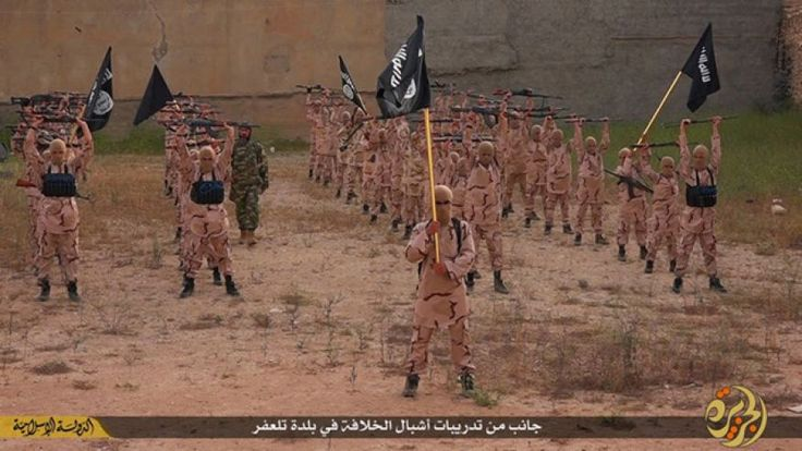 Inside The Caliphate -- 'They beat us everywhere': Inside ISIS training camps for terror's next generation   http://fxn.ws/1CKri4d