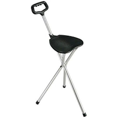 Walkers and Canes: Drive Medical Deluxe Folding Cane Seat BUY IT NOW ONLY: $935.53