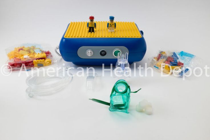 Child Pediatric Nebulizer Aerosol Compressor for Asthma COPD Lego Model MQ7000 #ad