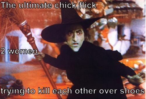 The ultimate chick flick.Ultimate Spider-Man, Funny Pictures, Ultimate Chicks, Ruby Slippers, Ruby Red Slippers, Wizards Of Oz, Favorite Movie, Chicks Flicks, Little Dogs