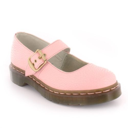 Dr Martens Mary QQ Pearl Womens Mary-Jane Shoes - Light Pink