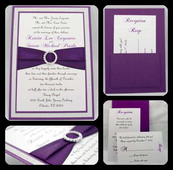 best 25+ bling wedding invitations ideas only on pinterest,
