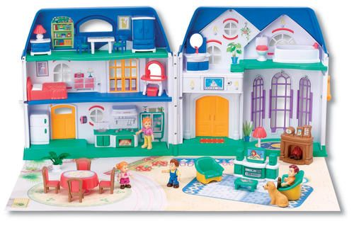 Happy family, Dollhouses and Activity toys on Pinterest