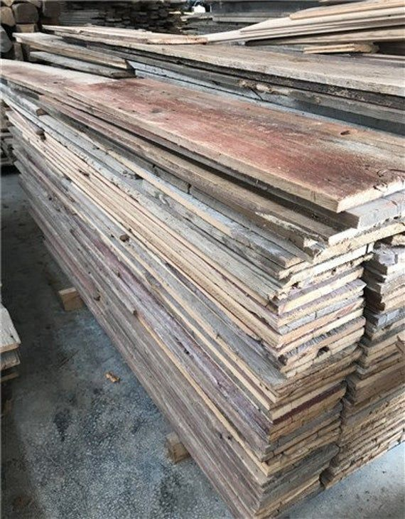 Reclaimed Barn Wood Boards Lumber Barn Siding Salvage Planks Red