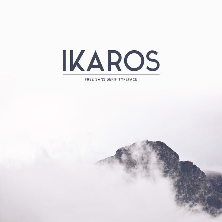 Download the free Ikaros typeface by Matt Ellis. Create, craft and sculpt your latest design using this beautiful free typeface.