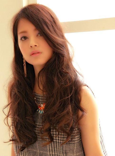 モテ女子の華やか潤いカールスタイル 【大阪・梅田/Chocolat Umeda】 http://beautynavi.woman.excite.co.jp/salon/27343?pint ≪ #longhair #longstyle #longhairstyle #hairstyle ・ロング・ヘアスタイル・髪型・髪形≫