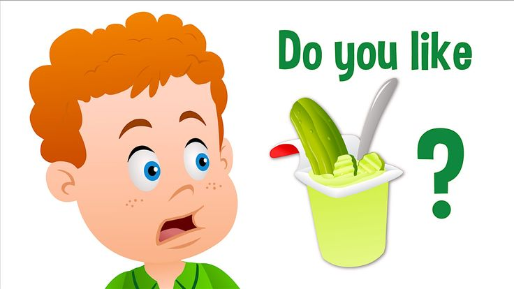 Do you like pickles? Do you like pudding? Do you like pickle pudding? Yucky! >_<  Sing about likes and dislikes with this funny food combos song from Super Simple Learning.
